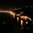 夜のタオルミーナ